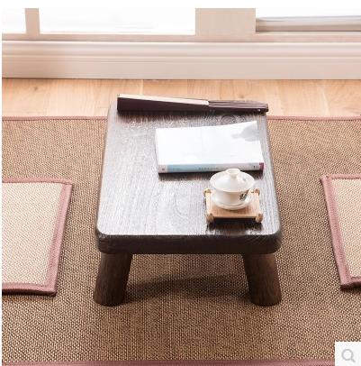 Shipping wood windows table small tea table Japanese tea table bed table a few Kang Kang Table tatami small tea table