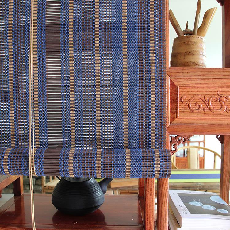 Belle de levage d'ombrage rideau de bambou chinois vent rideau rideau de bambou salon de thé rétro - balcon rideau rideau de séparation
