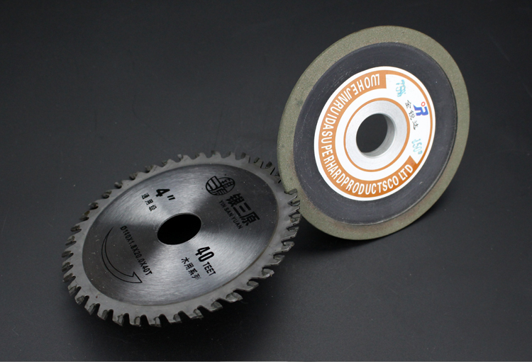 As the diamond saw head tungsten single bevel gear wheel hard alloy cutter wheel shipping Jin Rui