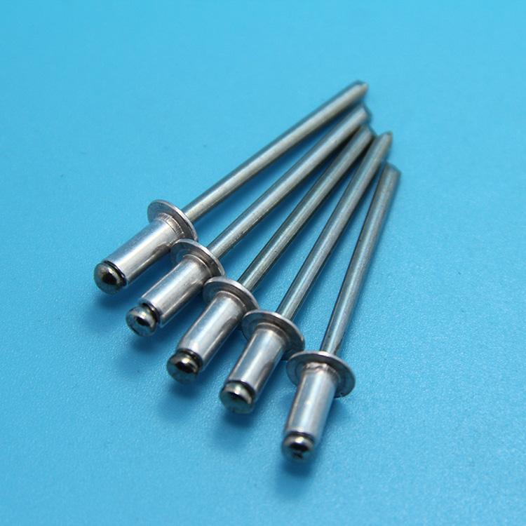 защита окружающей среды открытого типа алюминия заклепок заклепка украшения гвоздь алюминия M2.4M3.2M4M5 вытащить гвоздь