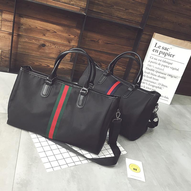 聚哥网供-WJ18时尚短途旅行大包男女通用多用背包