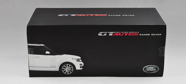 [Zun Ya] simulation alloy static car model Wiley GTA first edition 1:18 Land Rover Range Rover model