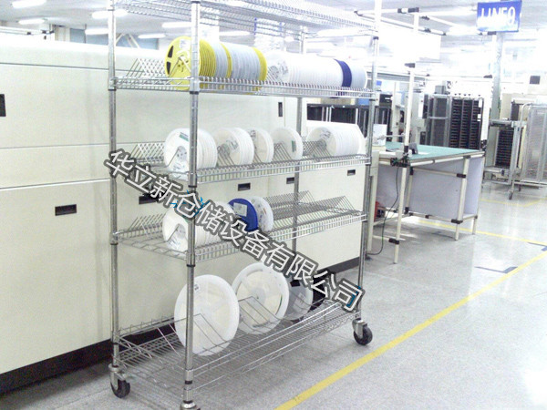 SMT materiale del Disco la cornice di un materiale unico cerotto Due picchi di materiale di supporto per gli scaffali, Salvo per la capacità di Resistenza scaffale di maglie.