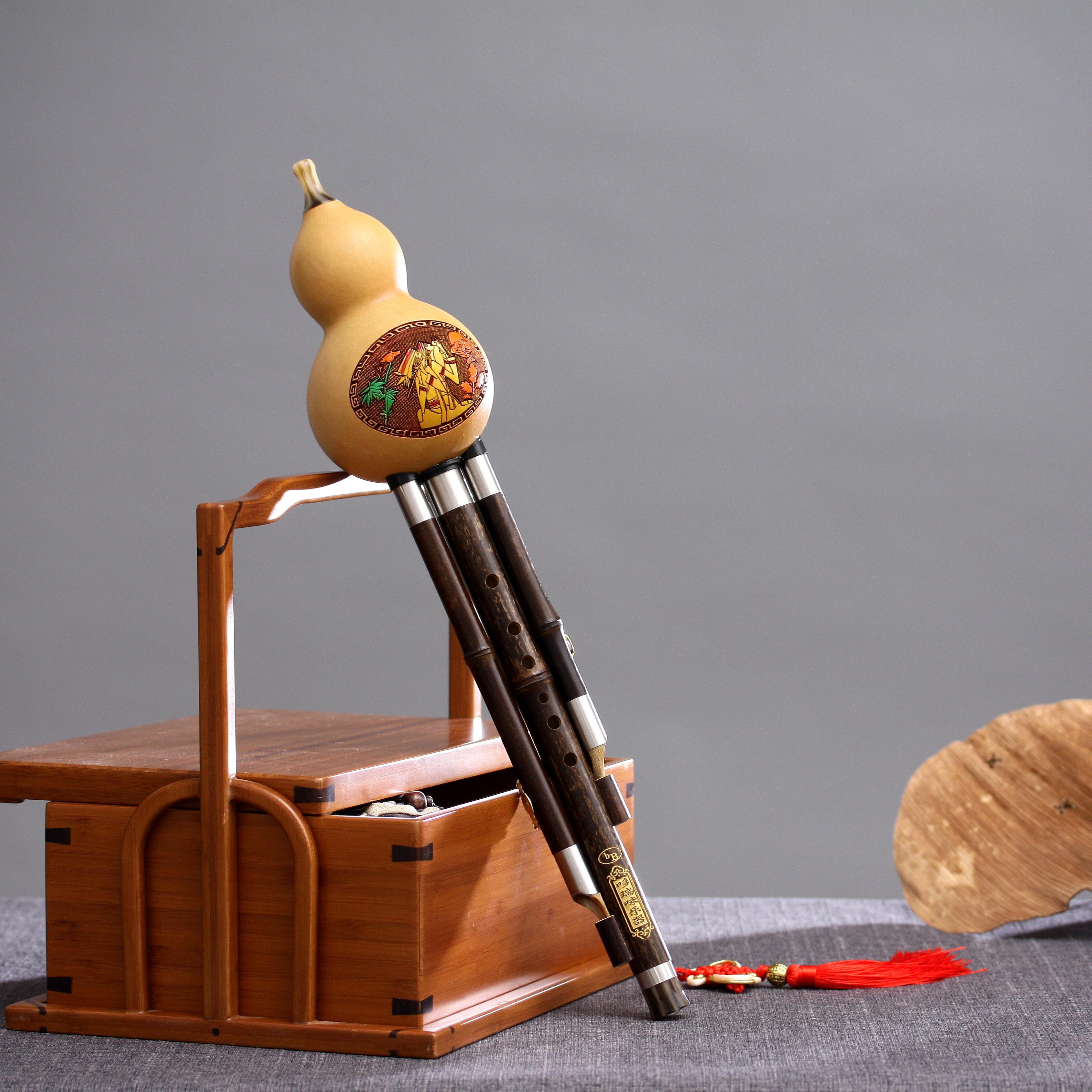 Instrumentos de nivel de tipo profesional hulusi considerando C rebaja de B. D los alumnos principiantes adultos pequeños paquetes de correo