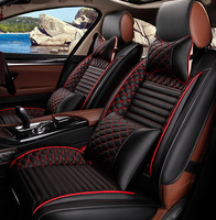 The automobile seat cushion is all summer seasons general name map K3 Excelle Sagitar special leather car cushion