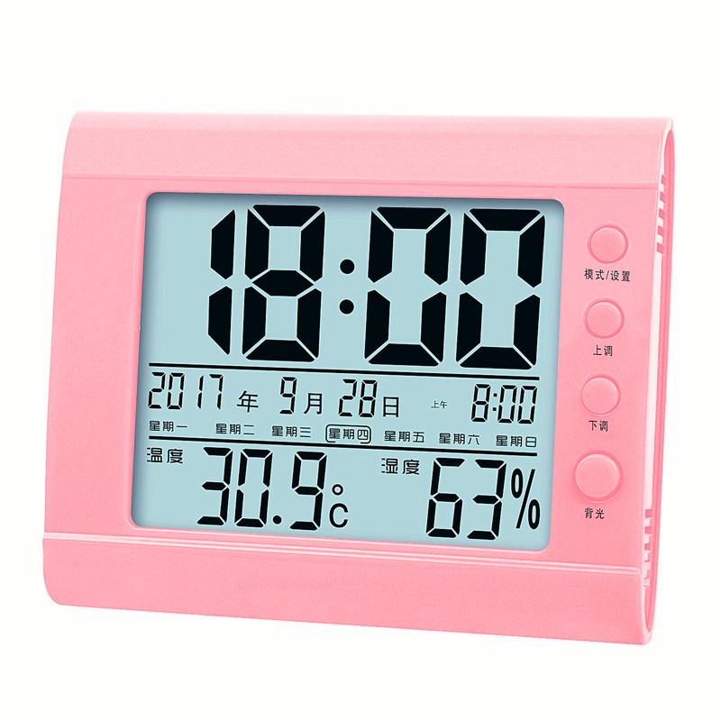termometer selvlysende husstand indendørs fugtighed baby værelse af høj præcision elektronisk hygrometer børn vækkeur