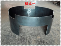 Large commercial stall cover fire gas cooker ring furnace cover retaining ring pancake retaining ring made of gas stove