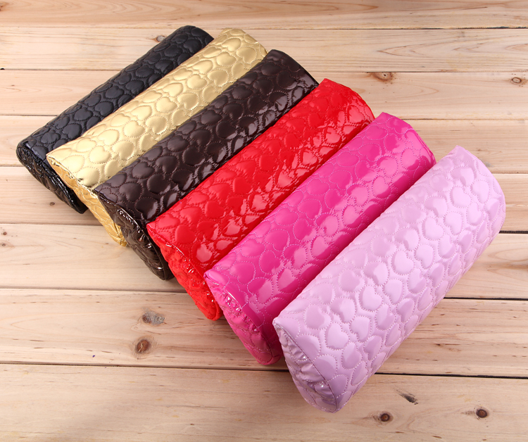 Manicure tools hand pillow pad leather comfort loving hand pillow nail polish glue supplies half full package mail