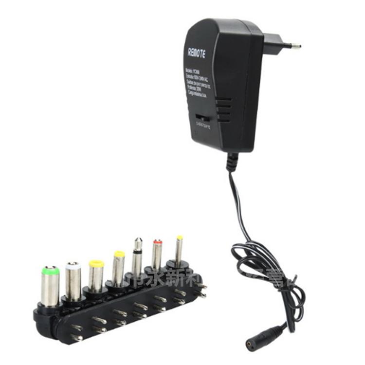 スイッチの電源のアダプター電源トランス30 3V-12Vろく調節できる万能直流の継手