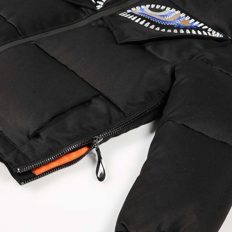 艾莱依2016冬服新型メンズ羽毛ジャケットビジュアル歯車短装张帅時の目スター同型