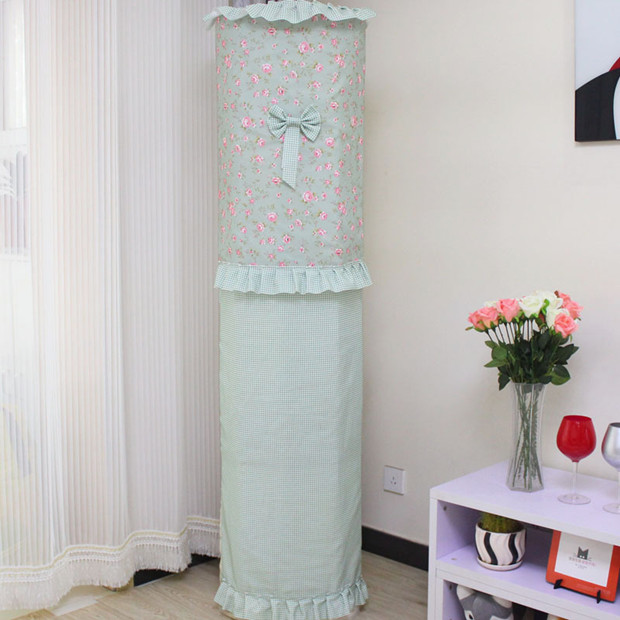 GREE air conditioner cover round beauty cabinet I platinum Iku 3P simple vertical cylindrical living room dust cover set