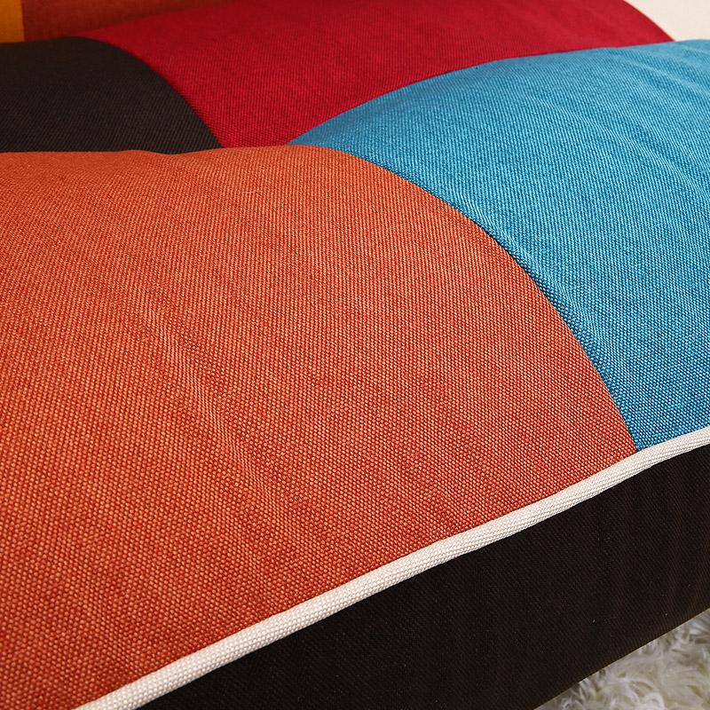 Ο καναπές κρεβάτι καναπέ μικρό διαμέρισμα πτυσσόμενο καναπέ διπλής χρήσης απλό χρώμα