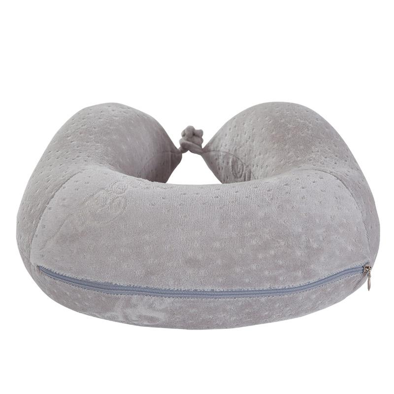 U字型枕カバーとして、Uとして寝ている枕の車の旅行は首の記憶の綿の枕