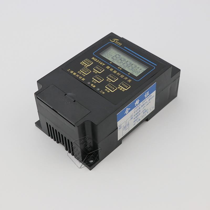 Когда переключатель KG316T микрокомпьютер контроля рекламы во главе с Лу лайтбоксы таймер 220в Электронный контроль времени группы 10