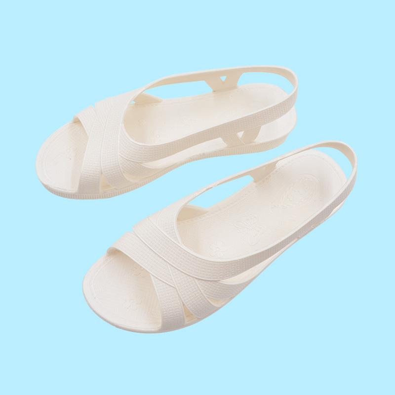 妈妈鞋夏季塑料奶奶凉