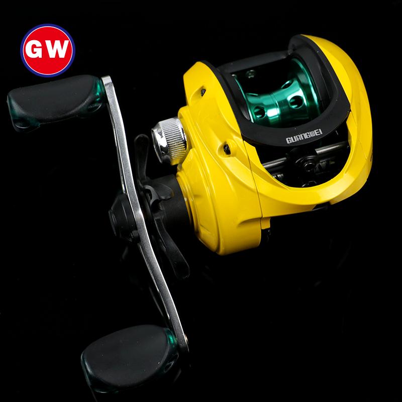 Mein GW.CA fischerei rollendurchmesser Neun achsen rad Weg 亚轮 hochseeangeln runde wassertropfen rechten rädern magnetische Bremse angeln