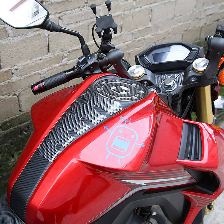 La Honda Burst CB190R 猛鸷 190X davanti agli occhi CBF190R il tappo del serbatoio apposto serbatoio apposto Applique adesivi