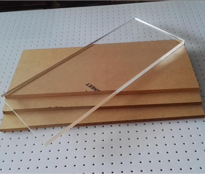 La Lastra di Vetro acrilico trasparente Organica di un piatto di Alta personalizzazione incisione Laser di Plastica del PC SU misura di piegare la trasformazione DI STAMPA