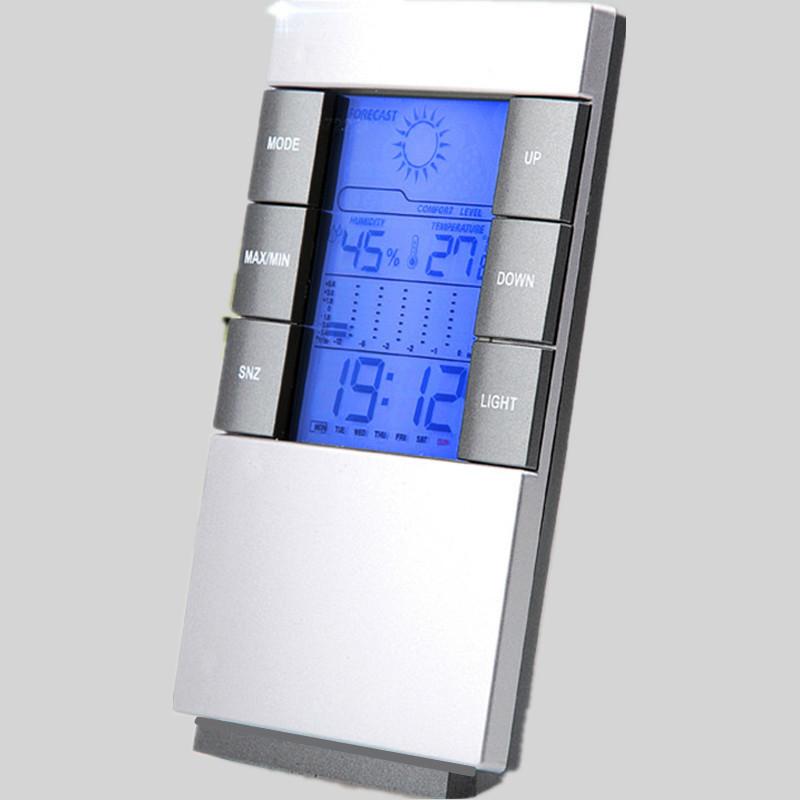 La temperatura e l'umidità all'interno e all'esterno del Piano Industriale Elettronico domestico contro l 'Influenza di Serra a visualizzazione digitale ad alta precisione con Luce di allevamenti