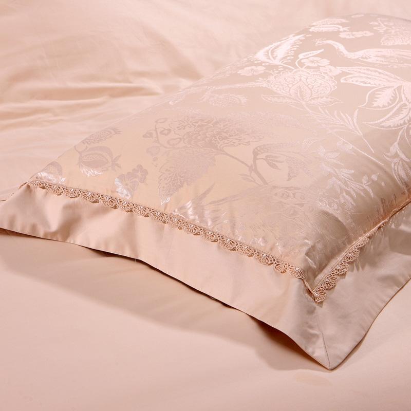 Anna di SETA e broccato di SETA di lusso a letto Tessile autentico lenzuolo 4/ una serie di Quattro Pezzi di 1.5m1.8 metri