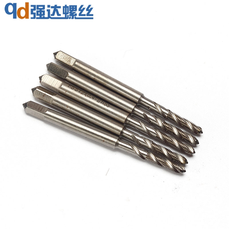 STM2*0.4-STM12*1.75 high speed steel 6542 screw sleeve tap spiral groove type machine tap
