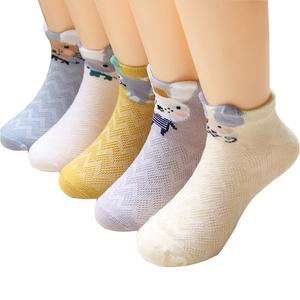儿童薄袜春夏女童短袜薄款中大童网眼袜子纯棉宝宝2-4-6-8-10岁男
