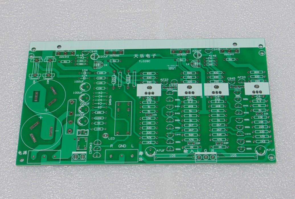 من فئة 2 ارتفاع السلطة مكبر للصوت لوحة مزدوجة القناة بعد الحمى على مستوى المكونات المنفصلة أنبوب أنبوب ثنائي الفينيل متعدد الكلور sonken توشيبا