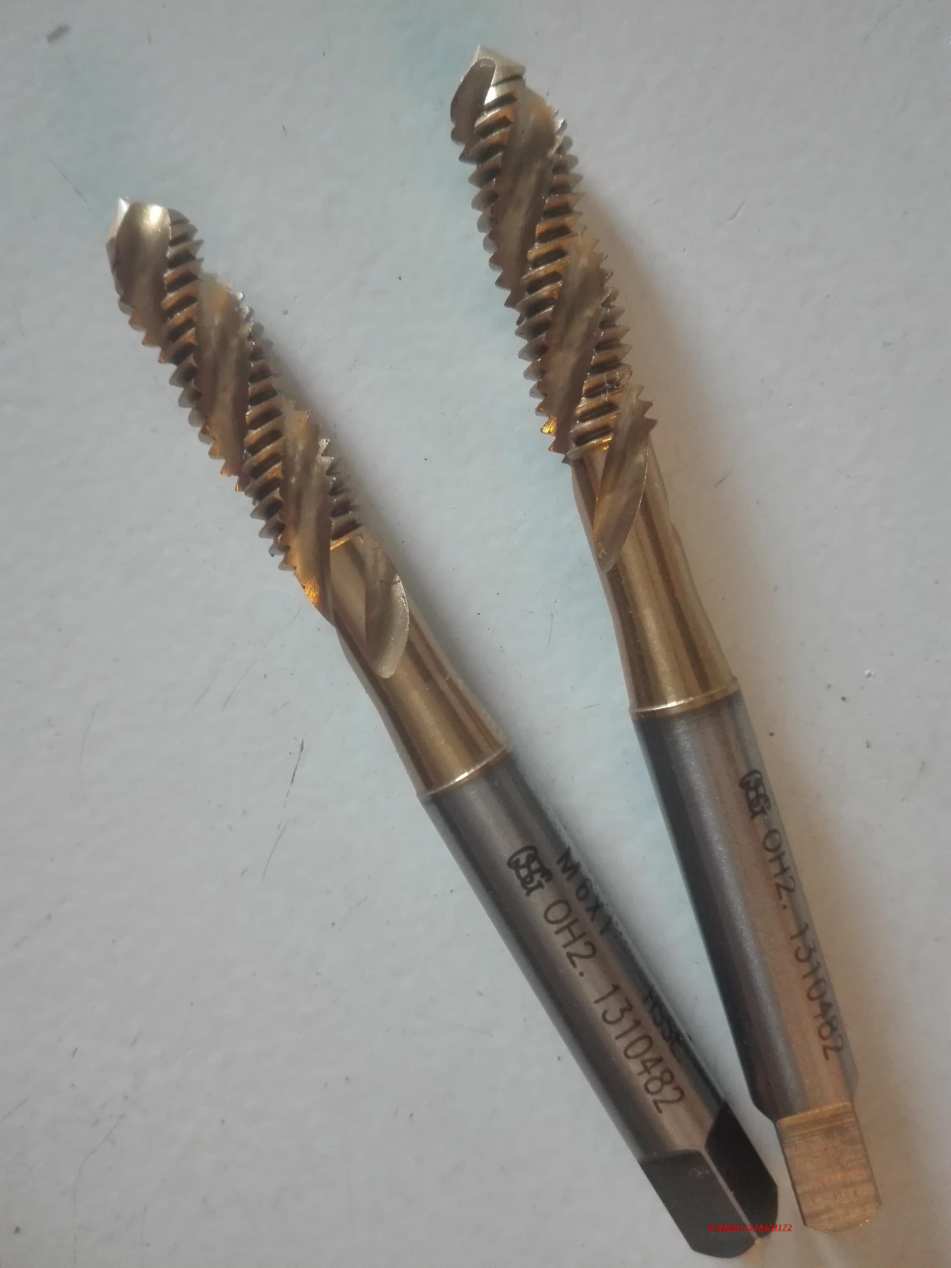 OSG M2.2/M2.5/M2.6X0.45M2.3X0.4 M7X1M8X1.25 titanium screw tap tap