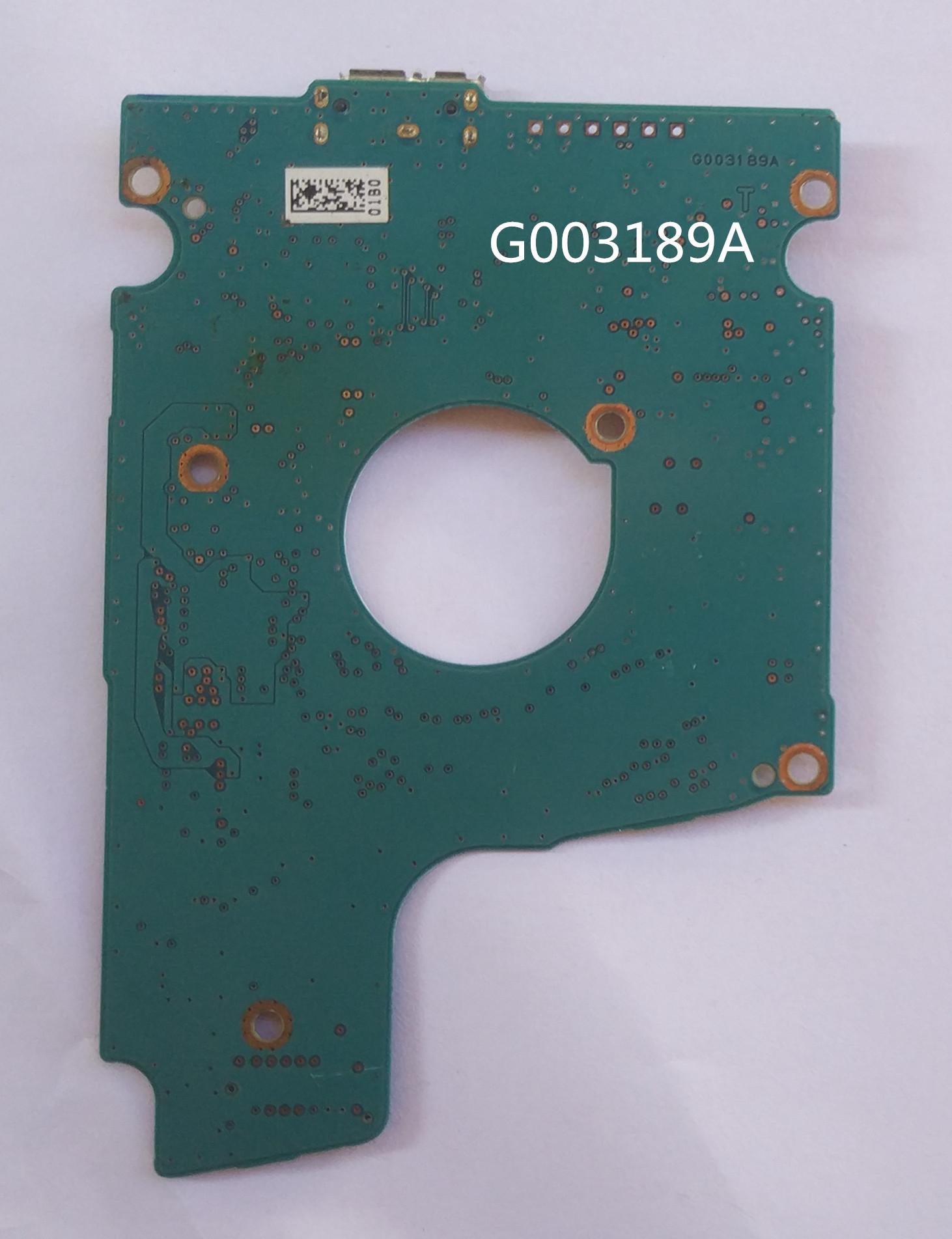 Toshiba sata - schnittstelle 500G1T usb3.0 geändert. G003189A mobile festplatte PCB Nr.