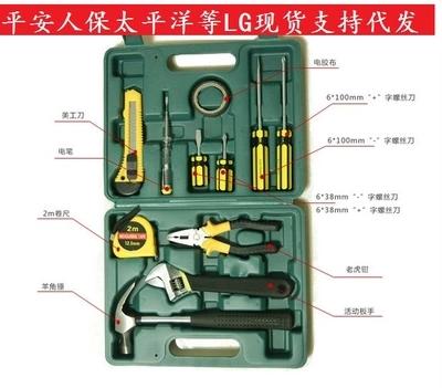 La Decorazione degli attrezzi Elettrici per la Lavorazione DEL LEGNO, rivestiti di Hardware di tutta una serie di Piccoli strumenti portafoglio Agricolo Germania Speciale Manuale