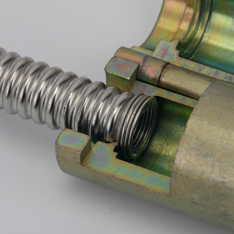 Distrito de acero inoxidable corrugado mouthparts 4 puntos 6 puntos de la onda de 1 pulgada a morir un tubo de gas a la herramienta de transformación de la onda 1