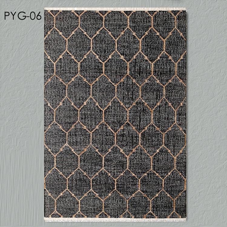 kézi szövésű 85. a jelzőt nem len indiai szőnyeg az előszobában pitypang juta szizál nappali