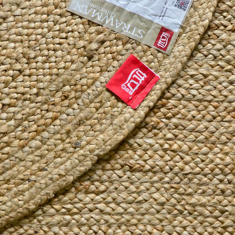 a foglalás.a kézi szövésű vászon szizál, amelyekben nem indiai szőnyeg madárijesztő juta az étkező