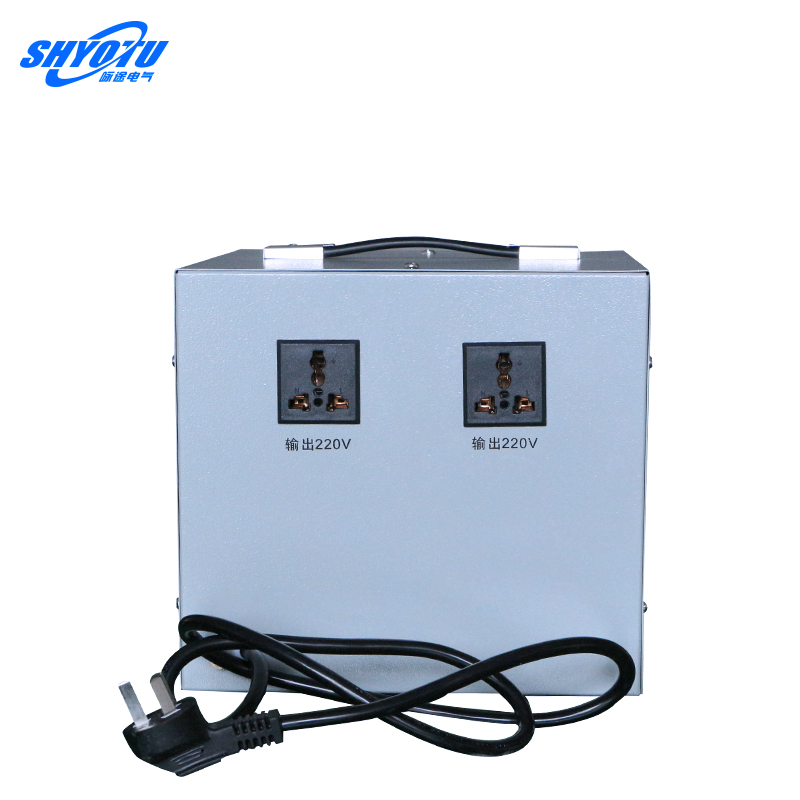 Regulador de tensão automática domésticos 3000W transformador monofásico AC regulador de som.