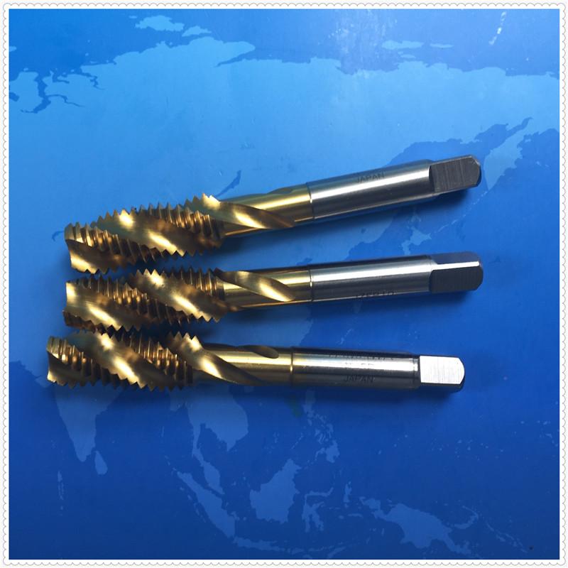 Japan YAMAWA titanium spiral screw tap M11M12X1.75X1.25X1X0.75X0.5 stainless steel