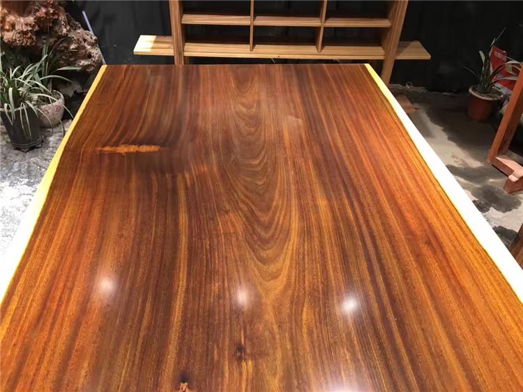 M. Okan Daban bureau bureau de bois de rose de bois en Amérique du Sud thé chef de table table de conférence toute fleur de bois spot