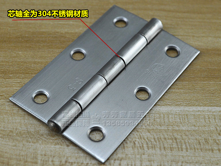 AAA - authentische 304 Edelstahl - scharnier der gemeinsamen wohnung eine türangel 3 Zoll ein scharnier Möbel industrie