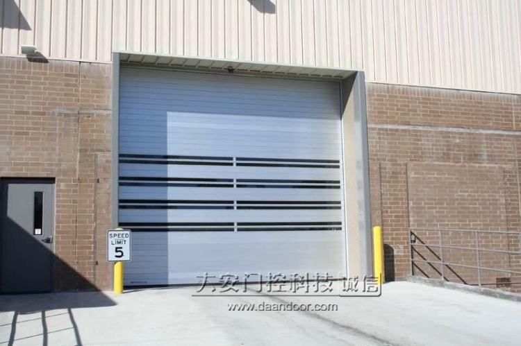 hitro vrata prožen nabira vrata delavnice električna vrata garaže za preprečevanje trkov pribor za toplotno indukcijo dvižna vrata prah