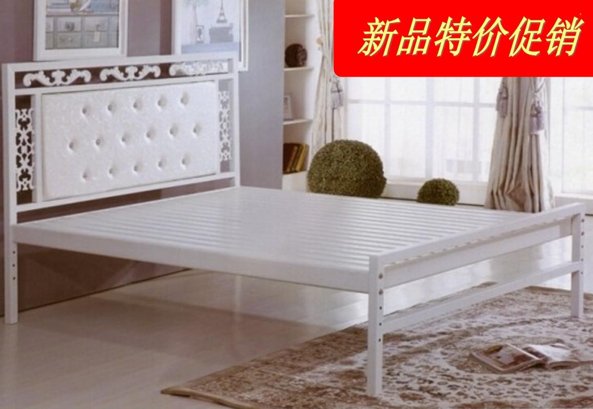 Semplice lamiera di ferro Speciale letto letto doppio letto singolo di 1,2 metri di 1,5 metri di 1,8 metri in Quel letto