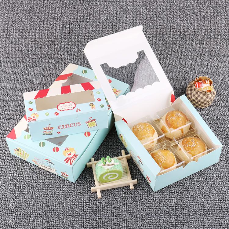 0 chỉ miễn bưu 2 hạt lòng đỏ trứng 10 gram có lấy hộp đựng trong hộp mị nương đóng hộp bánh trung thu 8 Puffs Tray 54 hạt 6 hộp