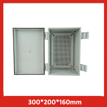 300*200*160 hinge buckle buckle waterproof junction box, buckle plastic box monitor waterproof buckle distribution box