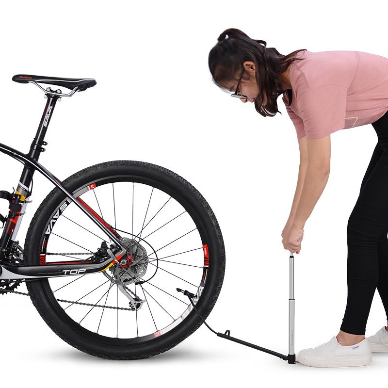 ชุดจักรยานสูบน้ำแรงดันสูงและ GIYO สหรัฐอเมริกาและฝรั่งเศสปากถนนจักรยานเสือภูเขารถพับแบบพกพาขนาดเล็กเครื่องสูบลม
