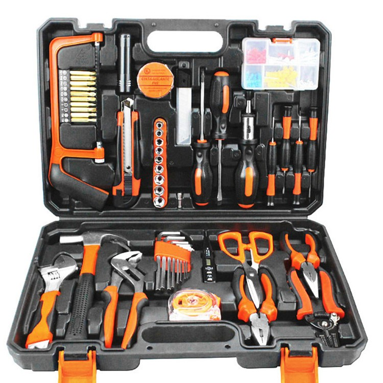 Gold Seiko home set designed to repair the car five sets of toolbox tools combined drill multifunctional electrical maintenance