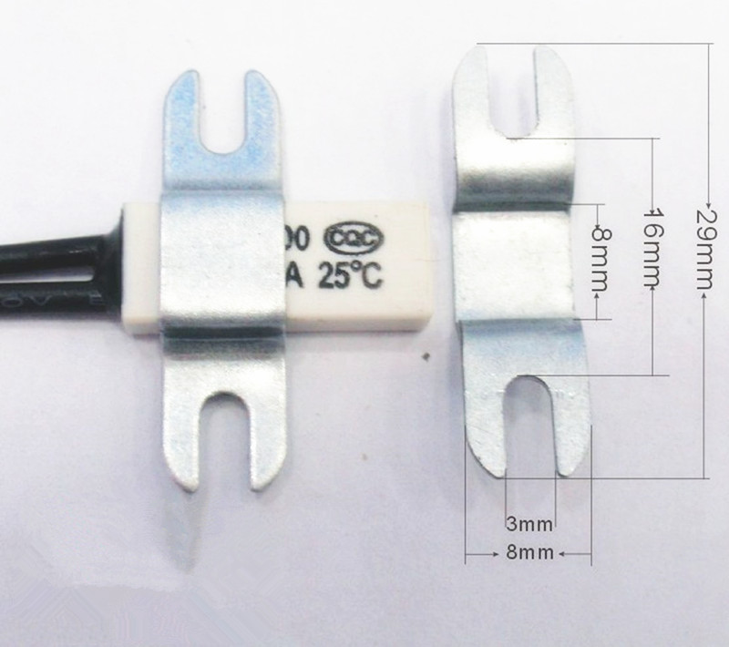 KSD9700 ceramic thermal protector is 40 degrees ~150 degrees normally closed type 10A/250V temperature / temperature control switch
