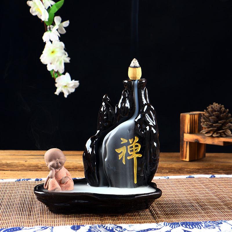 керамические спальни вспять кадило проточной воды творческих туба Ароматерапия печи копченый кадильницу к саше почтовый поток