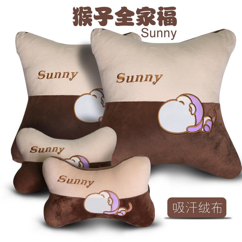 骨枕枕首クッション新型車座布団車で四季護首に装冰丝枕枕