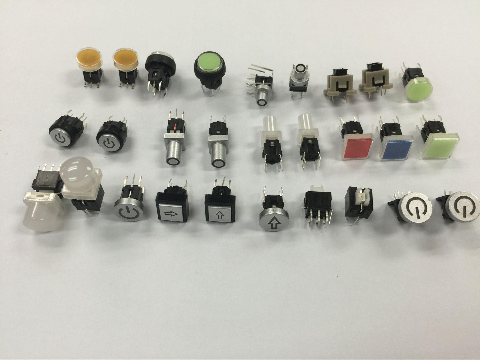 PB6142FL kvalitet nøglekontakt, nøglekontakt med lygte