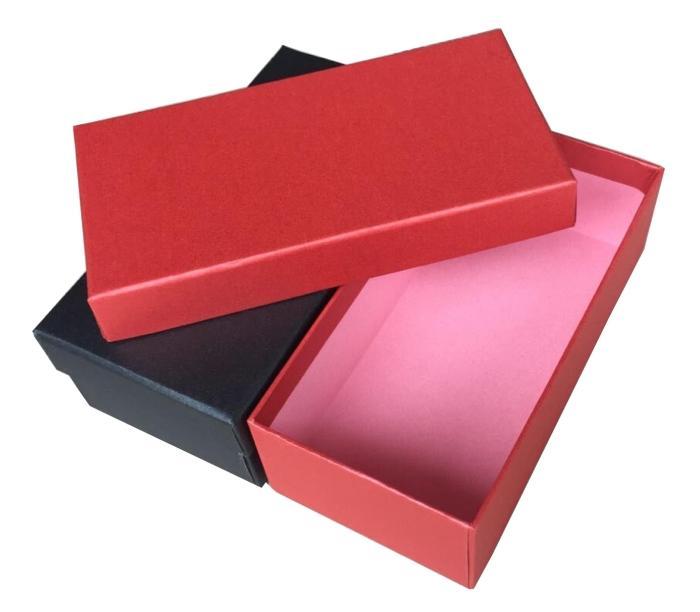 trumpet - paketen rektangulära fält macaron lådan är en gåva.