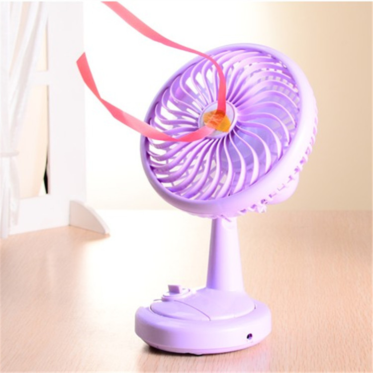 Shake head, small fan, USB rechargeable student dormitory office, mini fan, desktop, electric, ultra quiet