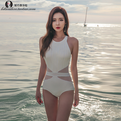 Swimming Suit feminine fashion cover belly slimming hot spring new Korean